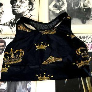 Victoria Sport Gold Crown sports bra